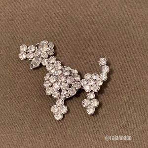 POODLE PIN Brooch